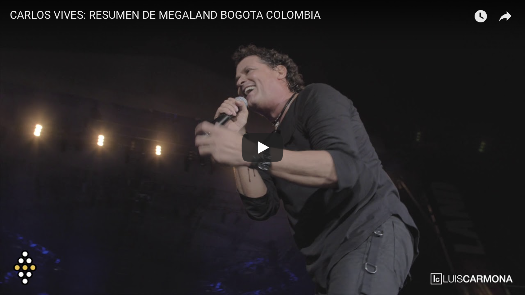 CARLOS VIVES: MEGALAND BOGOTA COLOMBIA