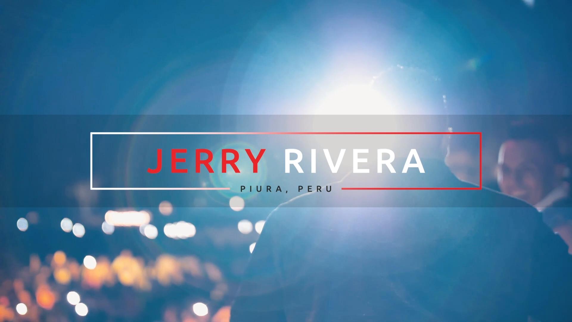 JERRY RIVERA - PIURA PERU 2018