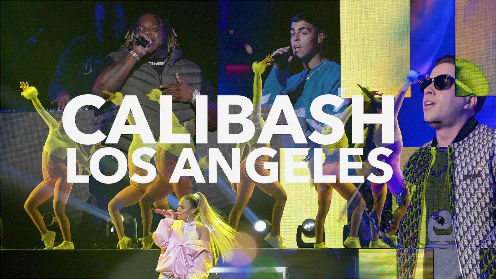 SECH, LUNAY, DE LA GHETTO, KAROL G AT THE CALIBASH 2020