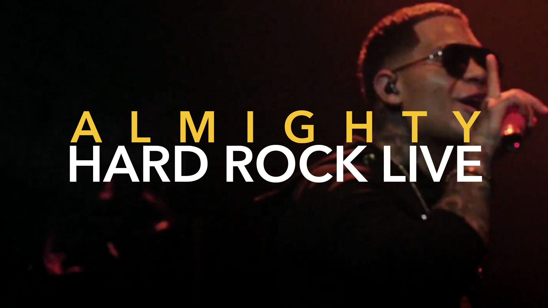 ALMIGHTY EN CONCIERTO HARD ROCK LIVE MIAMI