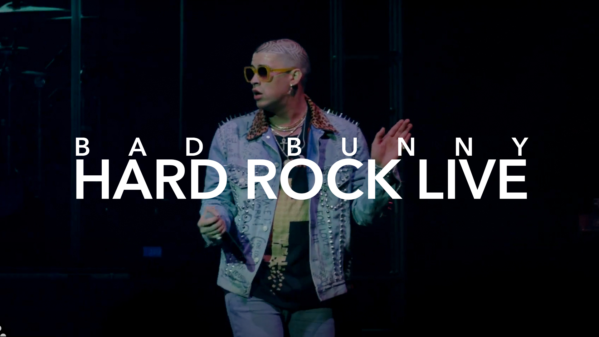 BAD BUNNY HARD ROCK LIVE
