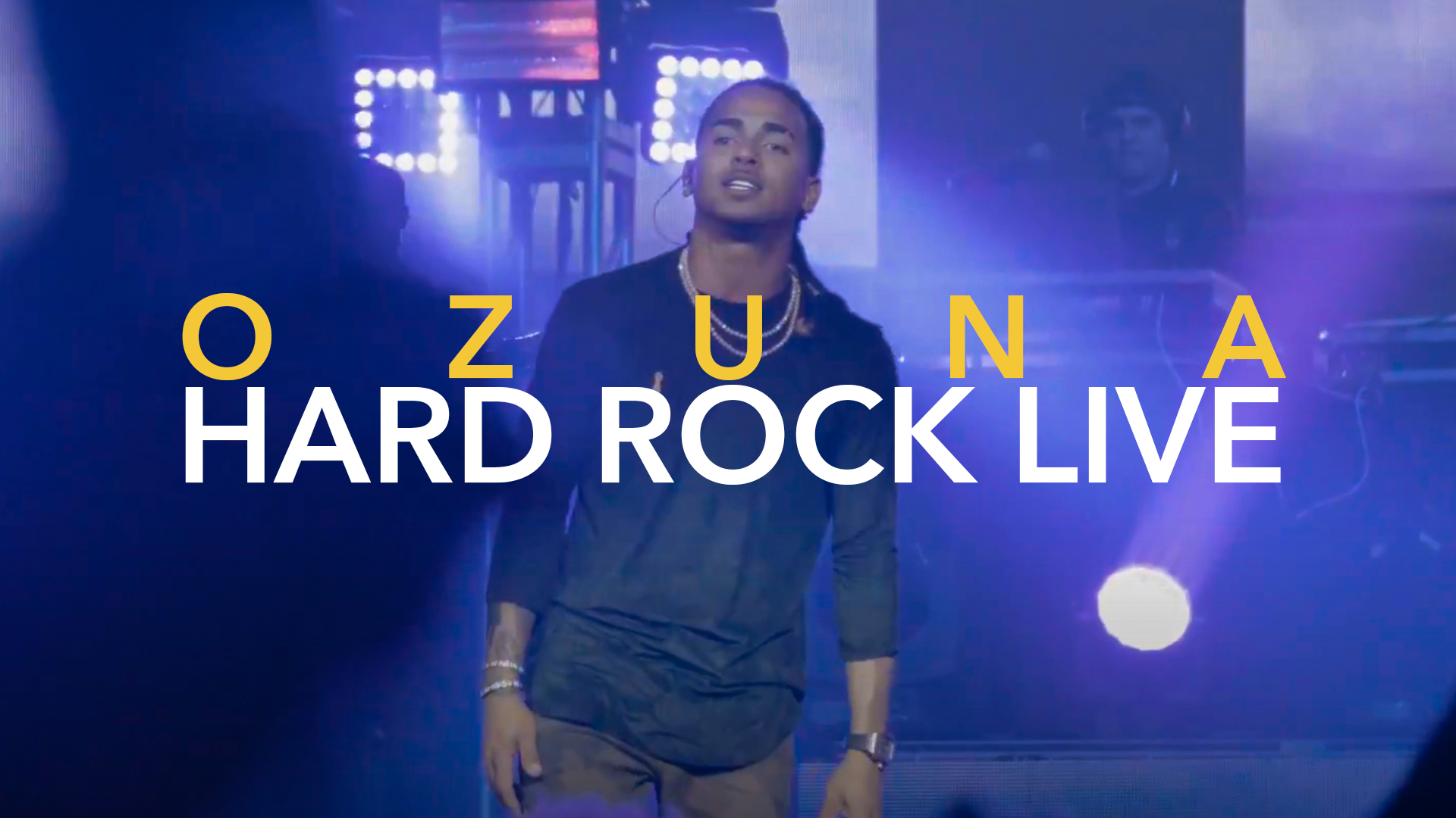 OZUNA EN LA INTIMIDAD (TRAP CARTEL) HARD ROCK LIVE MIAMI