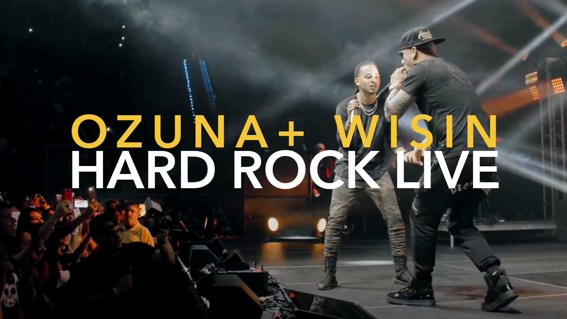 OZUNA WISIN EN CONCIERTO HARD ROCK LIVE MIAMI